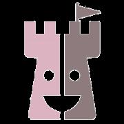 Kinderburg Ritter Turm rosa